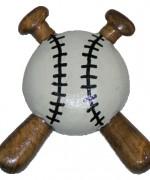 Baseball & Bats Pattern